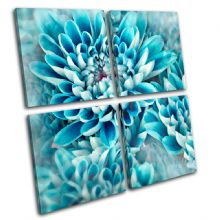 Zinnia blue flower Floral - 13-0427(00B)-MP01-LO